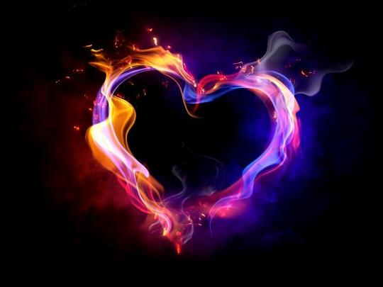 flame-heart